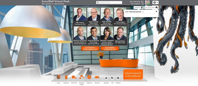 Virtual meetings software - Communique