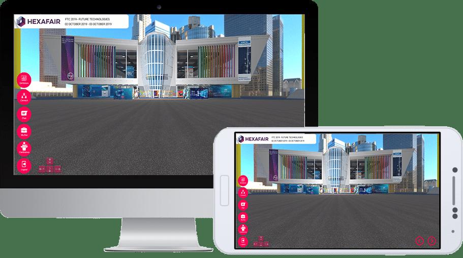 Virtual meetings software - HexaFair