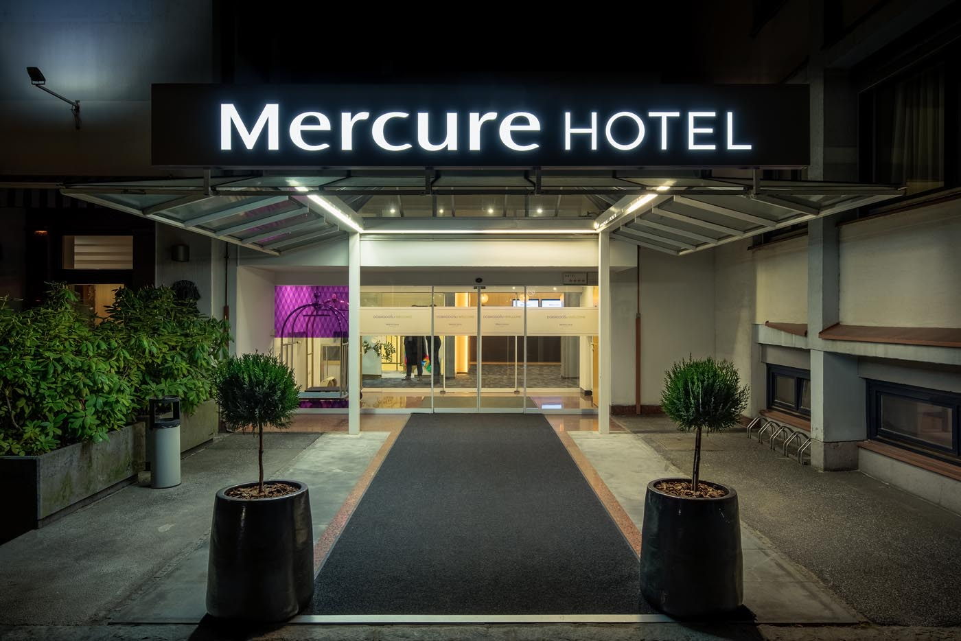 Mercure-Maribor-Entrance