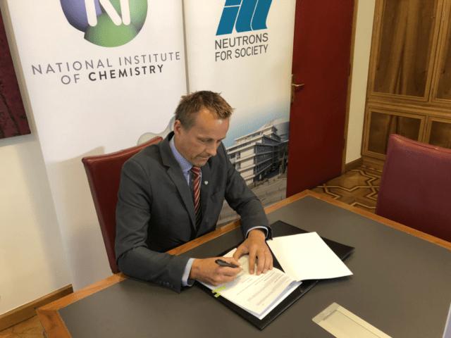NIC ILL signing Gregor Anderluh