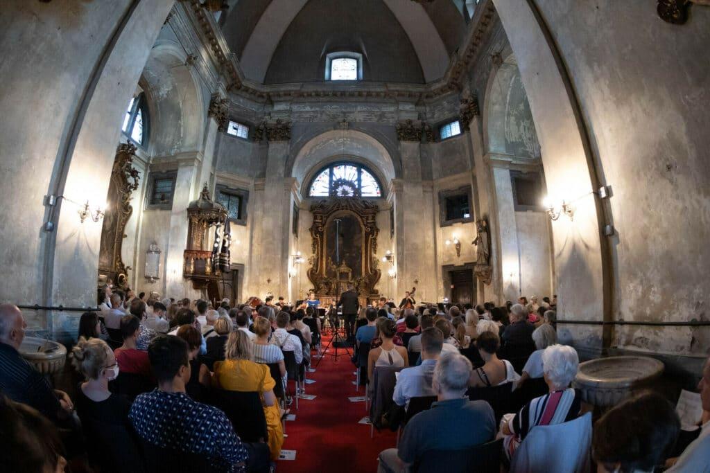 ljubljana festival krizanke church